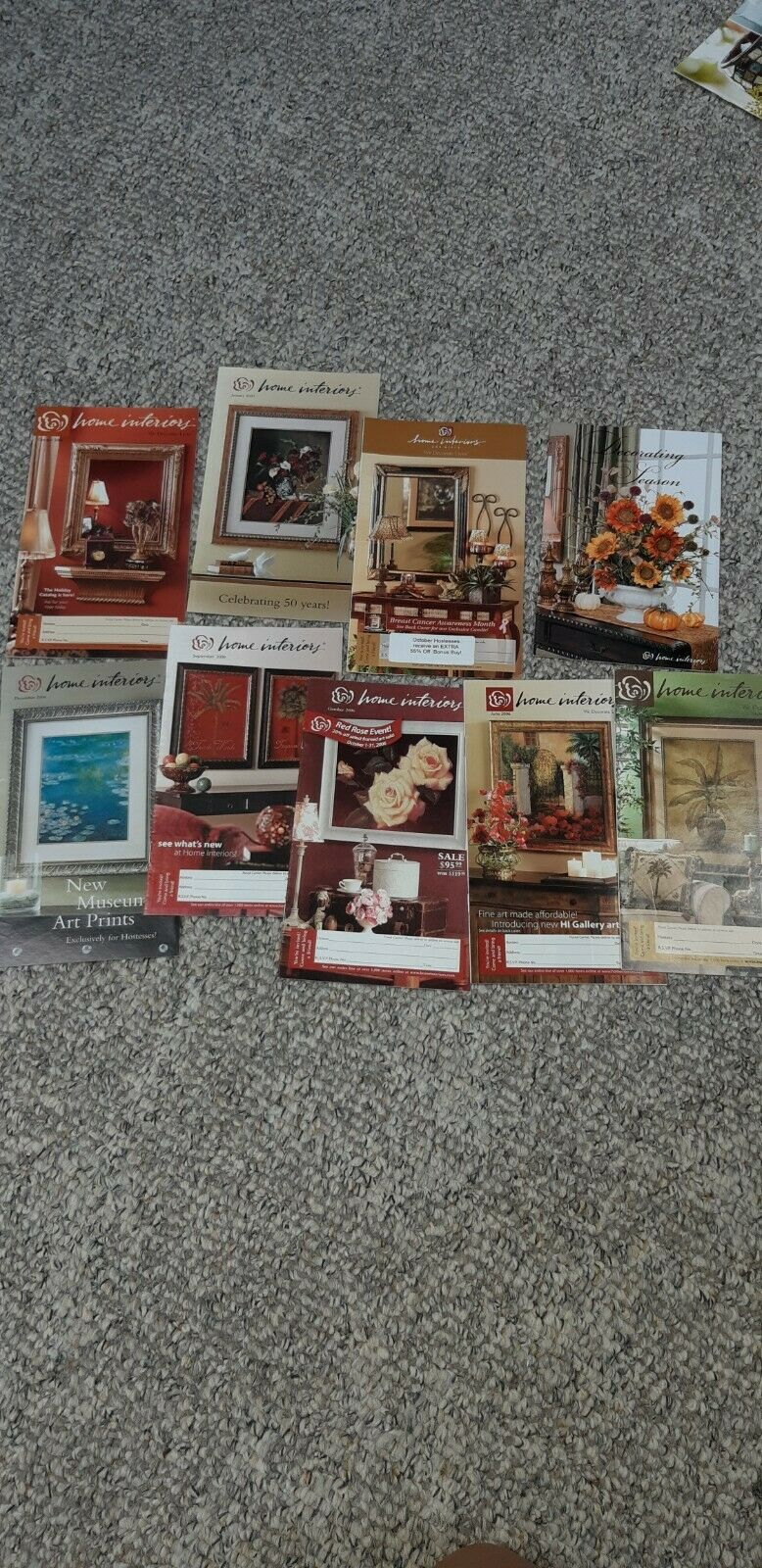 HOME INTERIORS & Gifts / BROCHURE Monthly SALES CATALOG 20 20 ...