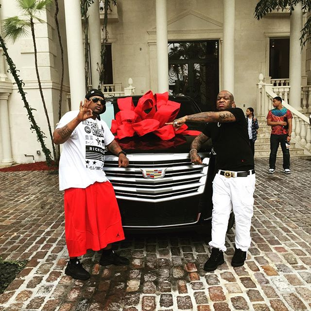 Birdman Gifts His Boy A New Escalade