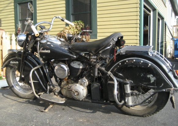 Mike Wolfe 1948 indian chief