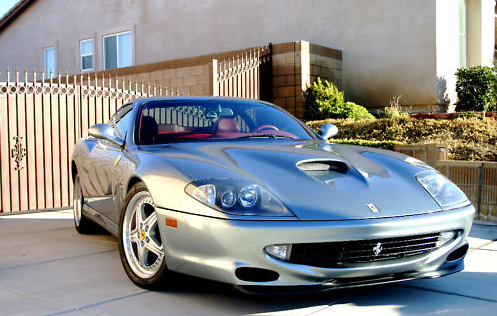 charlie sheen's Ferrari 550 maranello for sale