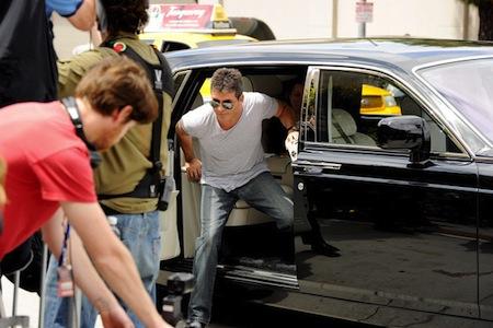 Simon Cowell Rolls Royce Phantom