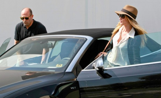 Jason Statham Rosie Huntington Whiteley Audi S5