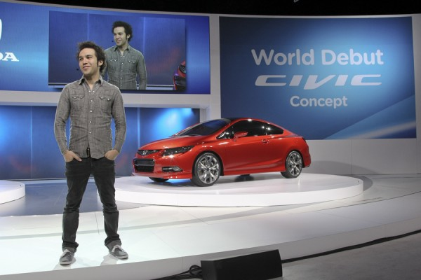 2012 Civic Concept car introduced by Pete Wentzall