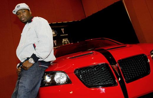 50 Cent's Pontiac GT8