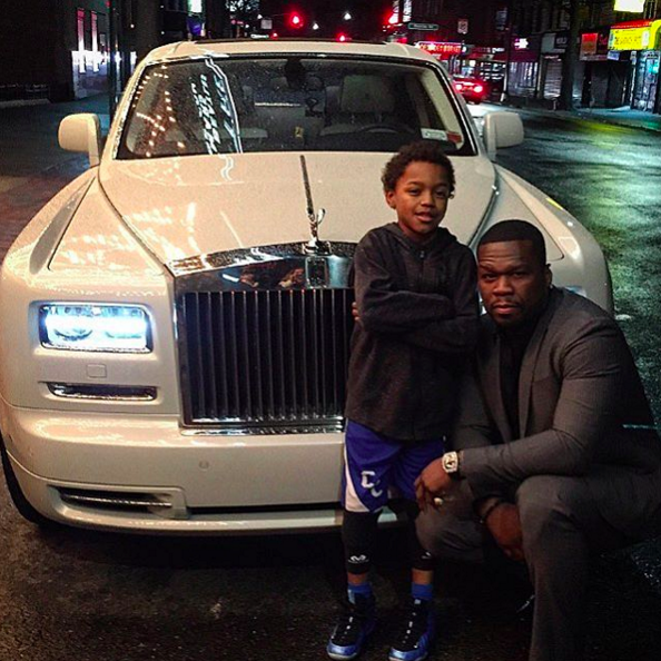50 Cent Rolls-Royce Phantom