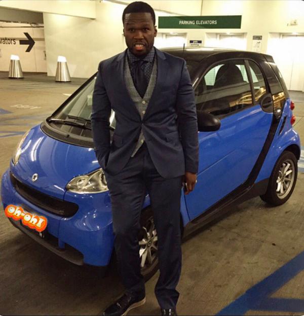 50 Cent Smart Car