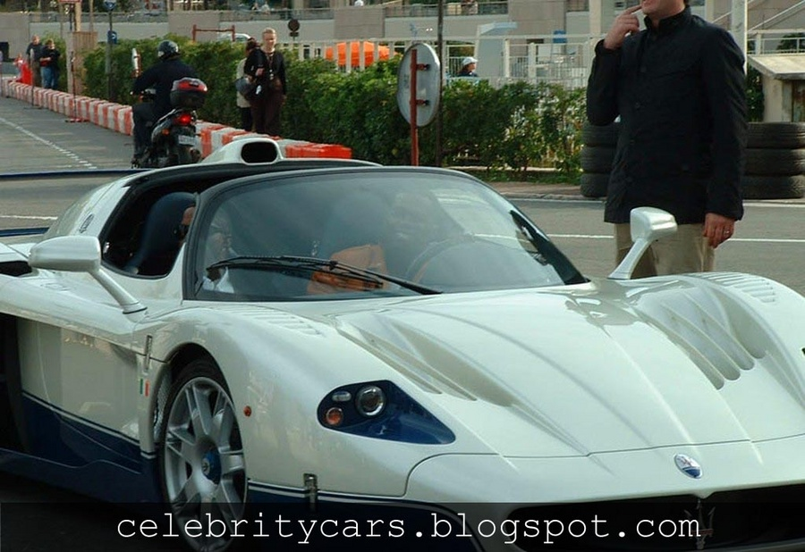 50 Cent in a Maserati MC12   Celebrity Cars Blog