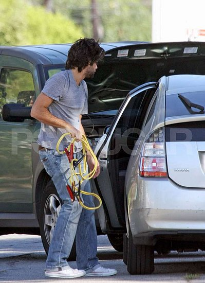 How To Jumpstart A Prius >> Adrian Grenier's Cars | Celebrity Cars Blog