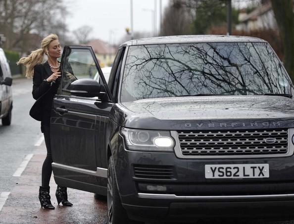 Alex Gerrard Range Rover Overfinch