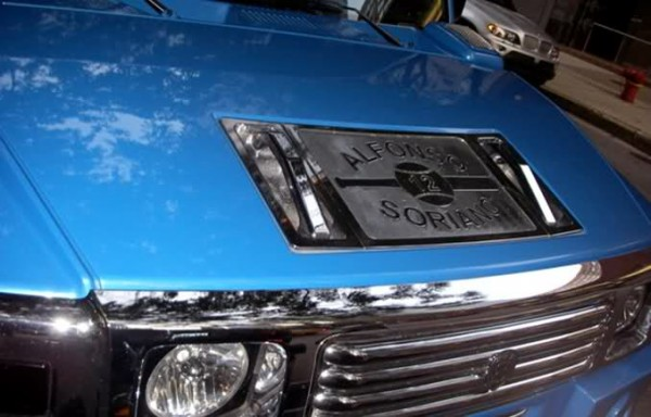 Alfonso Soriano's Hummer H2 Custom Plate