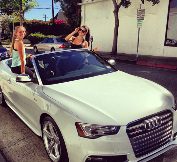 Amanda Cerny Audi S5