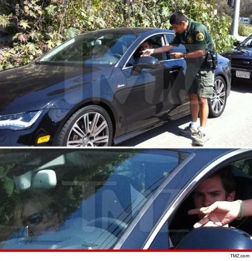 Andrew Garfield Emma Stone Audi S7