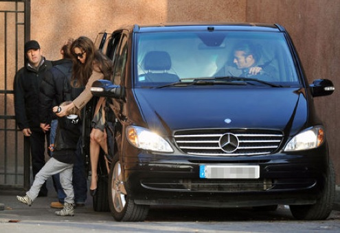 Celebrity Taxi Report: Angelina Jolie and Kids