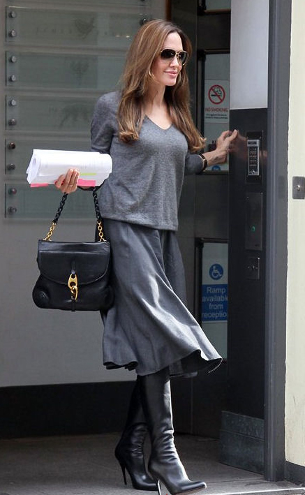 Angelina Jolie Tom Ford Carine celebrity handbags