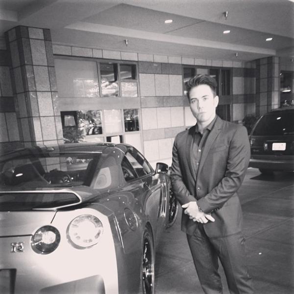 Apolo Ohno Nissan GTR