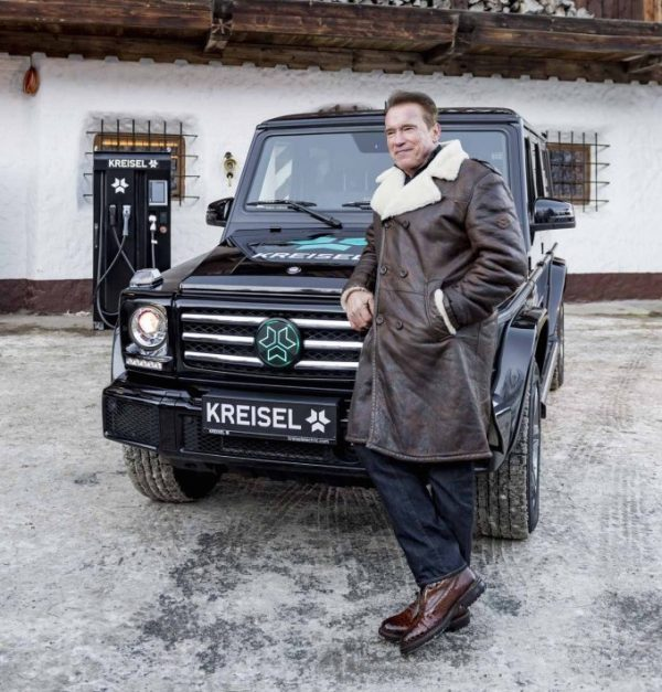 Arnold Schwarzenegger Electric Mercedes-Benz G-Wagon