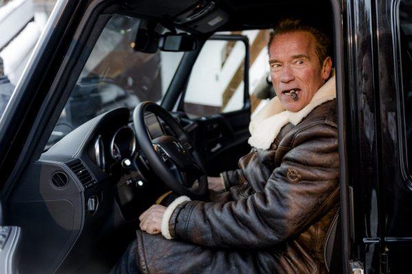 Arnold Schwarzenegger Mercedes G-Wagon