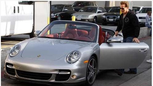 Arnold Schwarzenegger Porsche Turbo