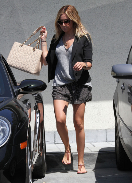 Ashley Tisdale Porsche
