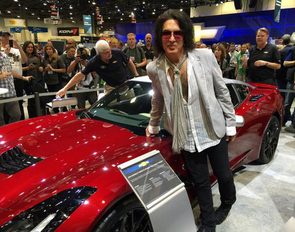 Paul Stanley - Custom Corvette