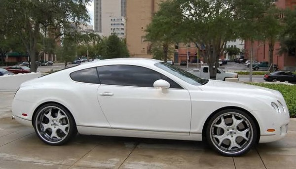 Batista's Bentley Continental Coupe