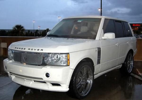 Batista's Range Rover