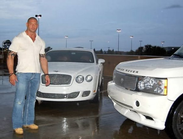 Batista with His Range Rover and Bentley Continental Coupe