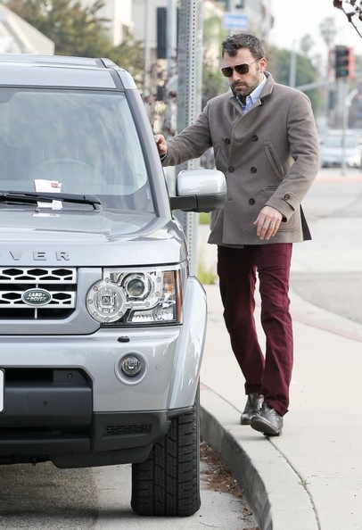 Ben Affleck Land Rover