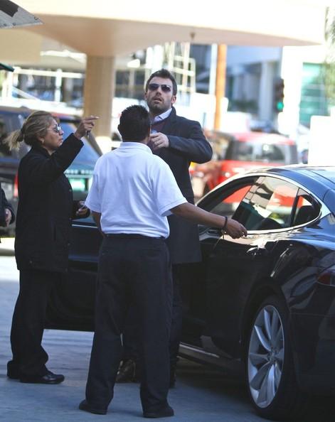 Ben Affleck Tesla Model S