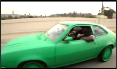 Big Black's Green Ford Pinto