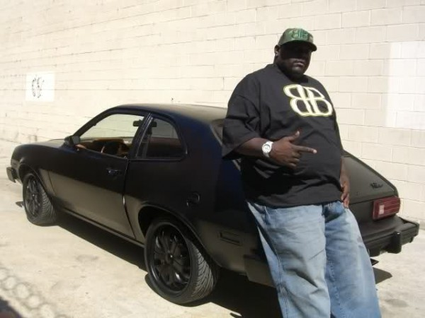 Big Black's Murdered-out Ford Pinto