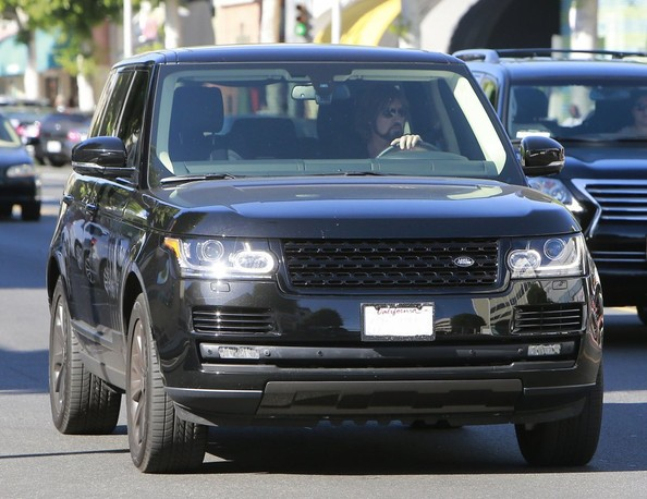 Billy Ray Cyrus Range Rover