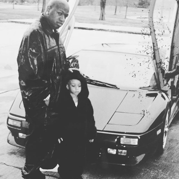 tbt birdman and his son stuntin with a lamborghini diablo