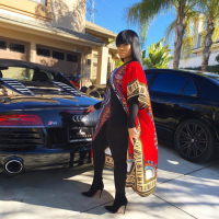 Blac Chyna Bentley Audi R8