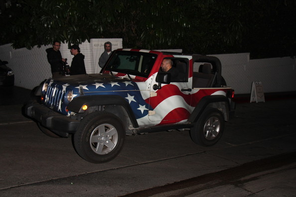 Blake Anderson Flag Jeep
