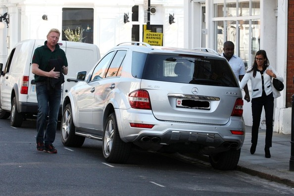 Boris Becker Mercedes-Benz ML63