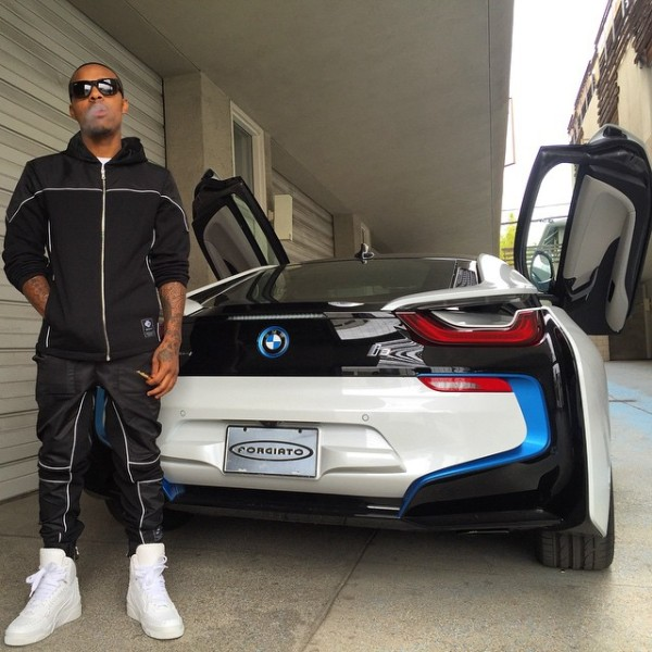 Video Bow Wow S Girlfriend Surprises Him With A Bmw I8 Celebrity