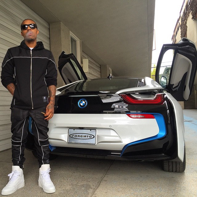 Video: Bow Wow's Girlfriend Surprises Him With A BMW I8