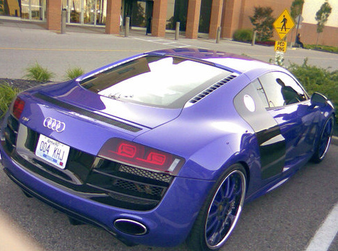 Brandon Phililips' Audi R8