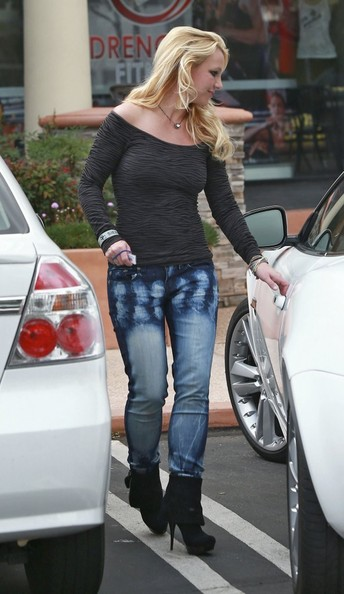 Britney Spears Jaguar XK
