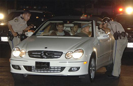 Britney Spears' Mercedes-Benz CLK