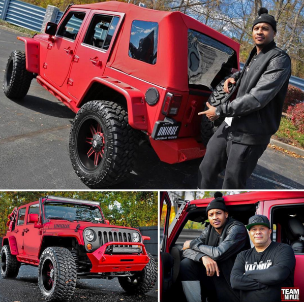 Carmelo Anthoney Jeep Wrangler Unique Will Castro