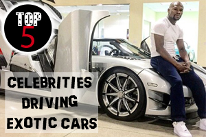 These celebrities drive exotic cars
