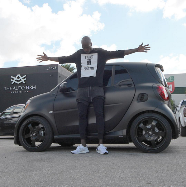 Chad Johnson Ochocinco Smart Car