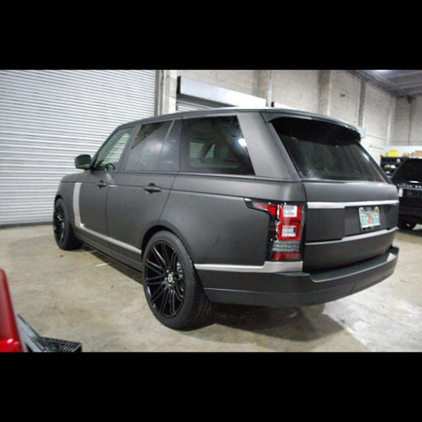 Chad Ochocinco Range Rover