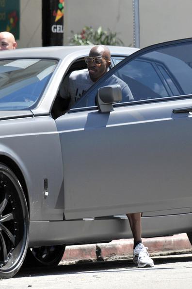 Chad Ochocinco Rolls Royce