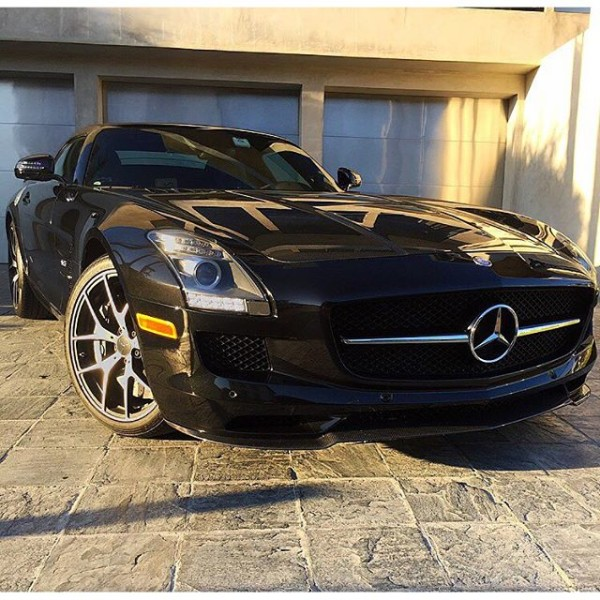 Chad Rogers Swoops a Mercedes Benz SLS