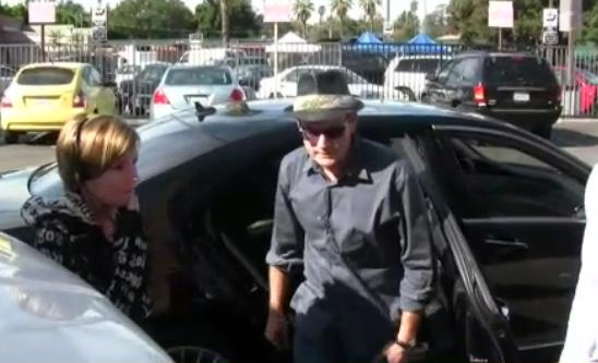 Charlie Sheen And Mercedes Benz S Cl
