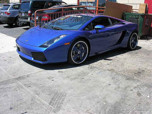 Chris Brown Lamborghini Gallardo