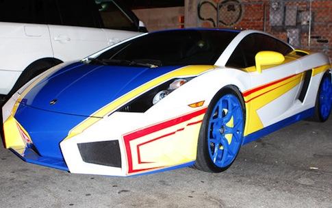 Chris Brown Lamborghini Hot Wheels